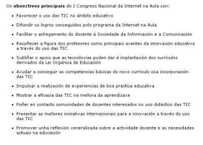 CONGRESO NACIONAL INTERNET NA AULA